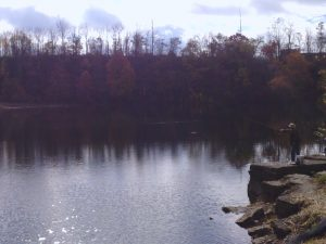 casting at the quarry